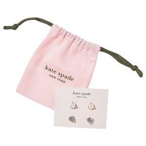 Kate Spade Rise & Shine Stud earrings set